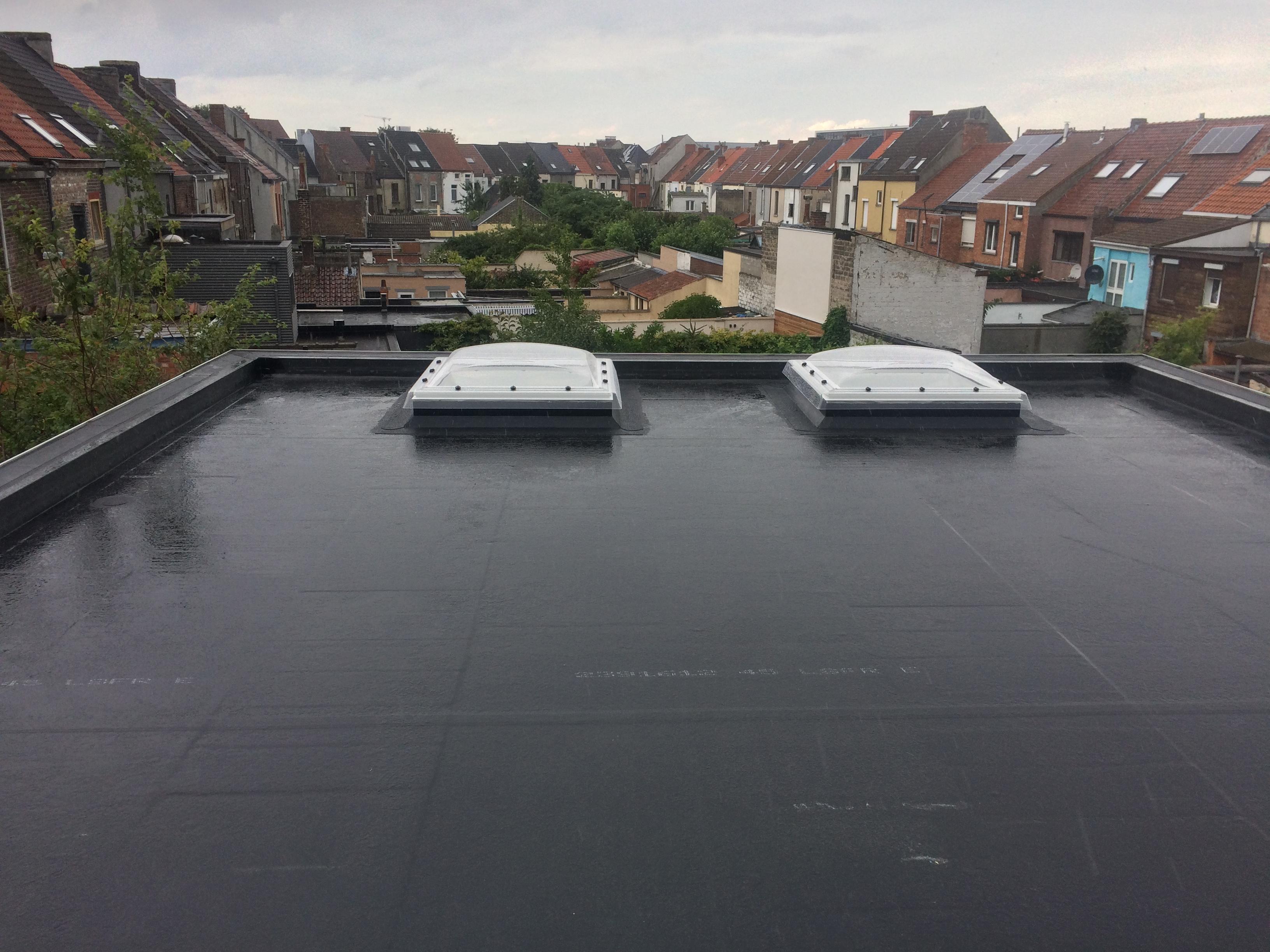 Platte dakken
